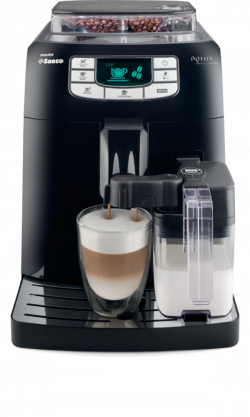 Philips Saeco Intelia One Touch Cappuccino Black (HD8753/11)