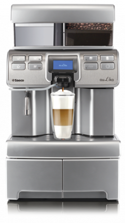 Saeco Aulika Top High Speed Cappuccino (HSC) Silver