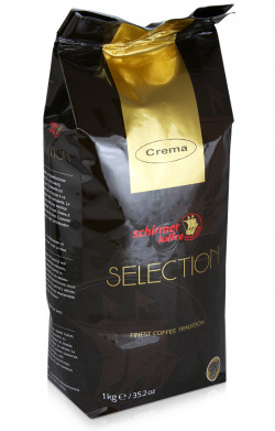 Schirmer Kaffee Selection Cafe Creme 1 кг, в зернах